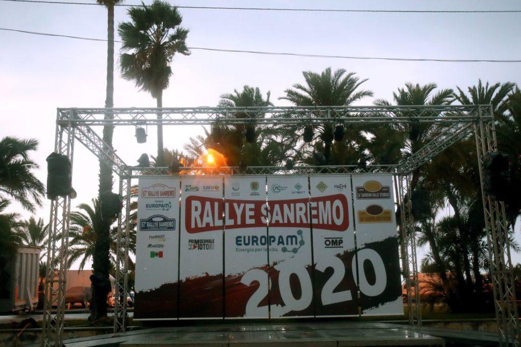 CIR | Rallye Sanremo 2020 annullato: il maltempo ha reso impossibile disputare la gara
