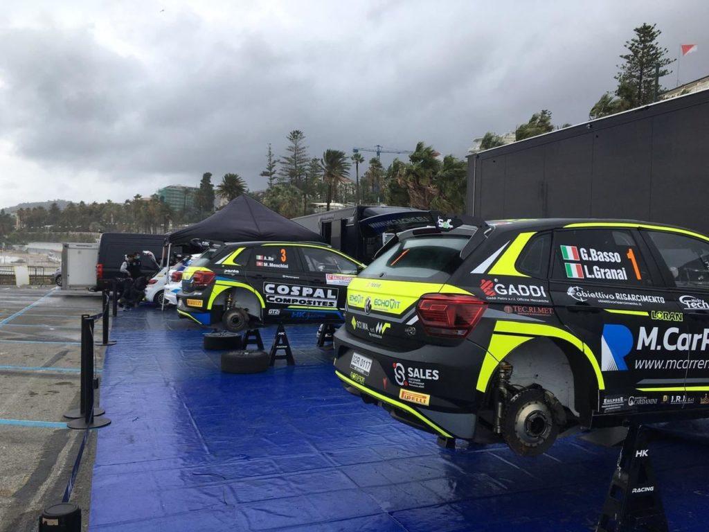 CIR | Sul Rallye Sanremo 2020 si abbatte il maltempo: cancellato lo shakedown, ritardata la partenza della gara