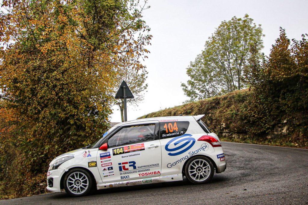 Suzuki Rally Cup | Al Rally Due Valli vittoria per Scalzotto, ma Rivia riaccende la lotta per il titolo