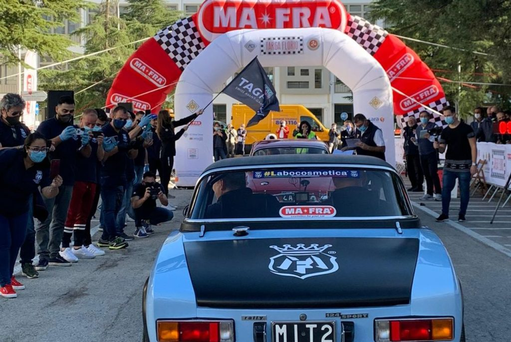 Scatta la Targa Florio Classica, oggi prima giornata di gara. Al via anche il vincitore uscente Passanante per MaFra