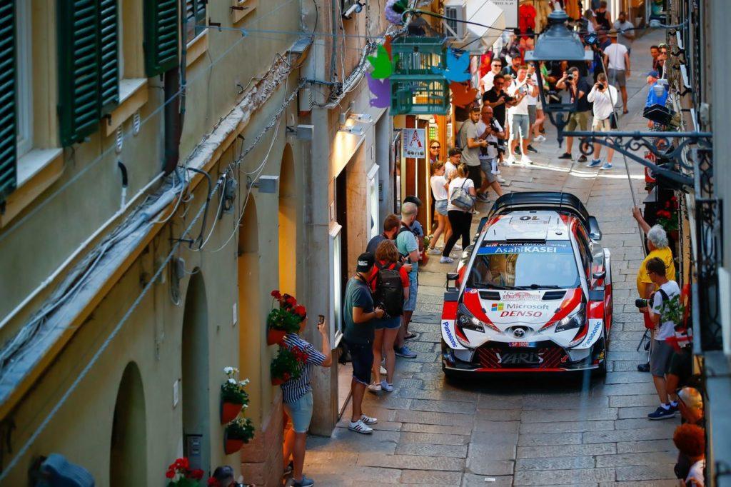 WRC | Toyota al Rally Italia Sardegna e le incognite del meteo