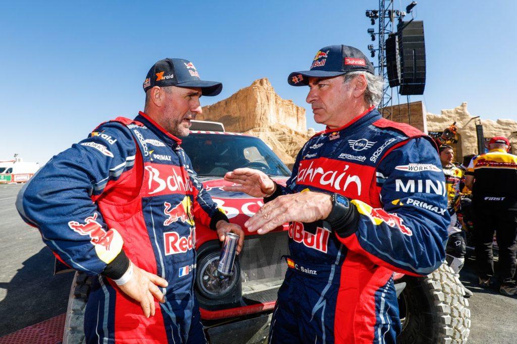 Dakar   X Raid Mini conferma per il 2021 Sainz e Peterhansel