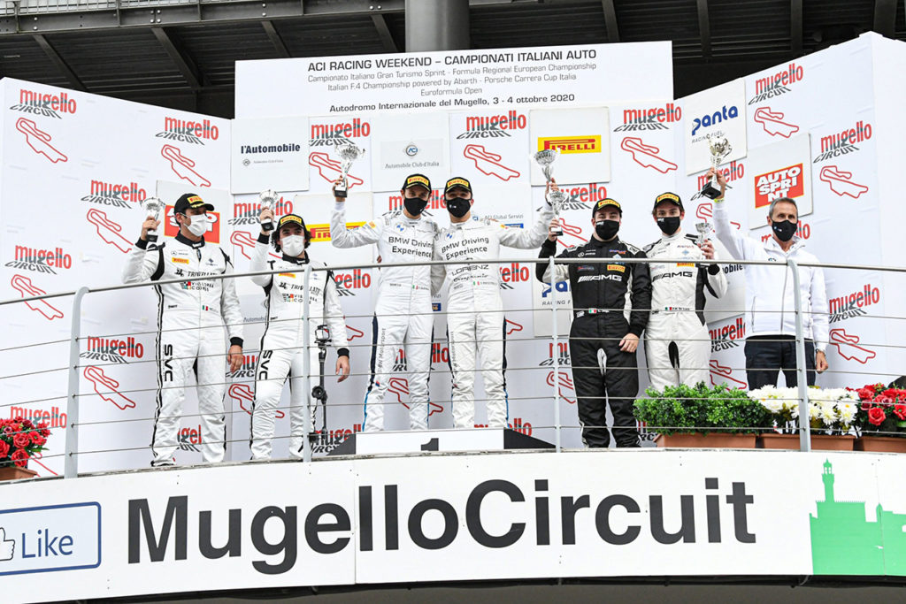CIGT | BMW Team Italia centra un successo nella classe GT4 al Mugello con Guerra-Riccitelli