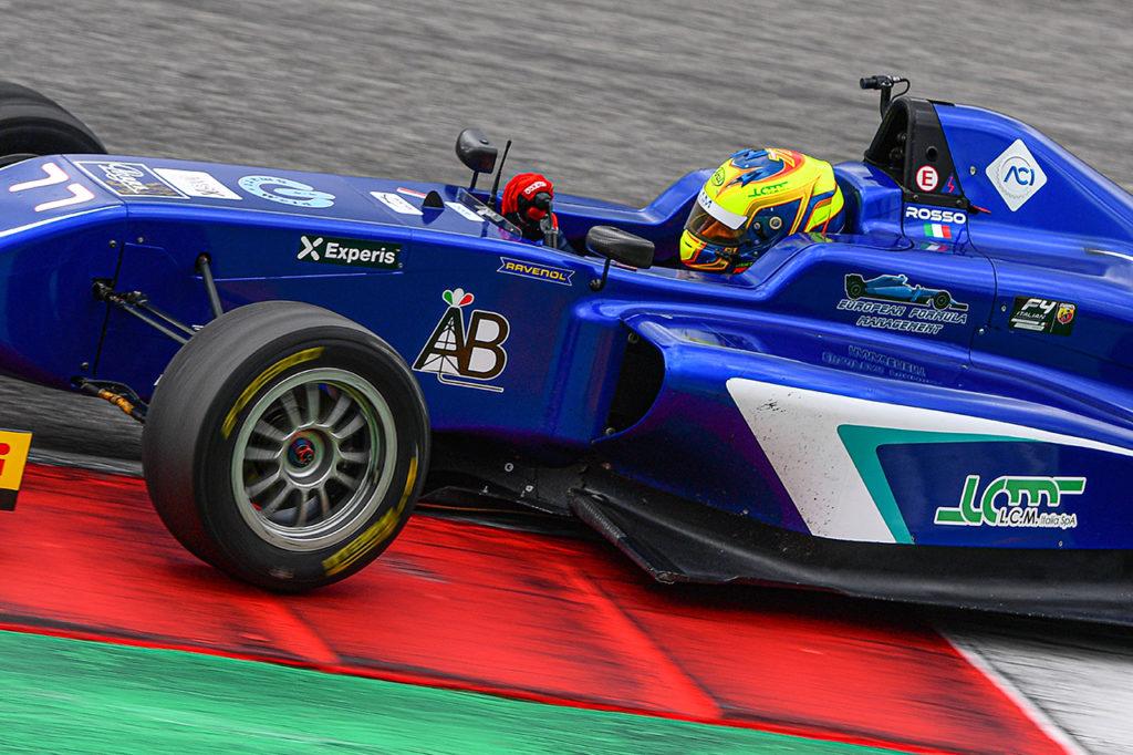 F4 Italia | Mugello, Gara 1: Rosso domina sul bagnato dalla pole position