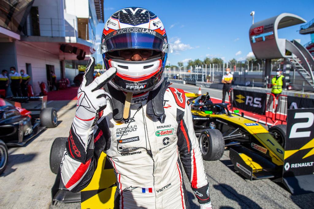 Formula Renault Eurocup | Martins centra la doppietta a Barcellona e stacca Collet in classifica