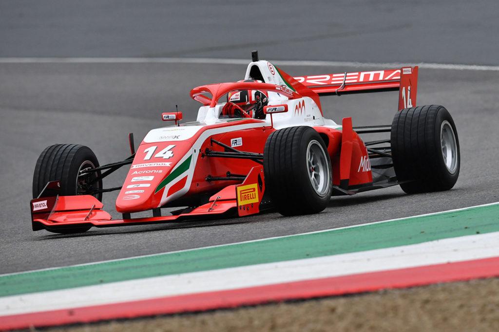 Formula Regional | Mugello, Gara 1: vittoria impressionante sul bagnato di Leclerc con Prema