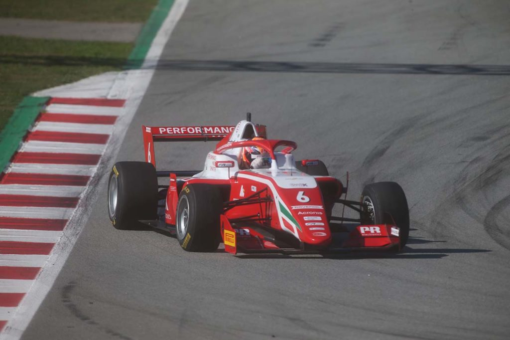 Formula Regional | Barcellona, Gara 1: Chovet spreca la pole, ne approfitta Rasmussen