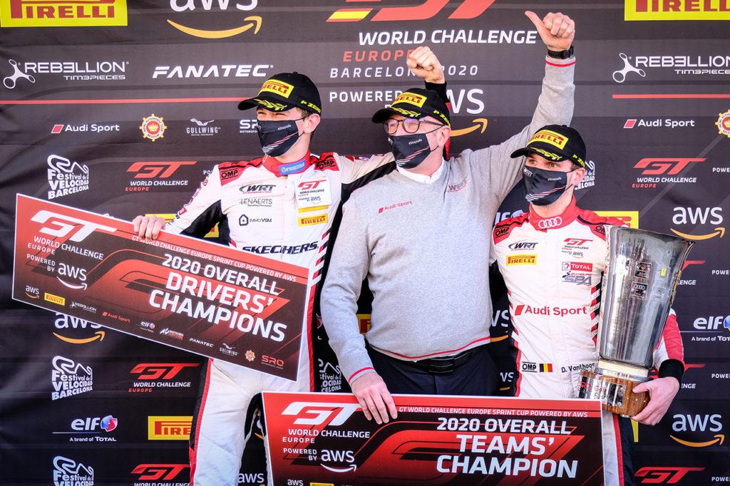GTWC Europe | Barcellona, Gara 3: vittoria di Marciello-Boguslavskiy, titolo all'Audi di Vanthoor-Weerts