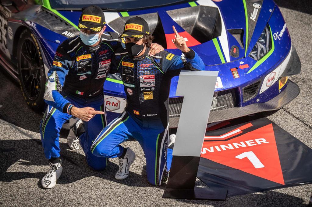 GTWC Europe | Lamborghini chiude la Sprint Cup con una vittoria e un podio a Barcellona