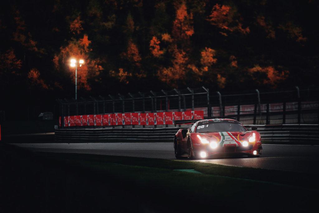 GTWC Europe | 24 Ore di Spa, 19a ora: AF Corse guida la corsa con Ferrari, Audi subito dietro con Attempto