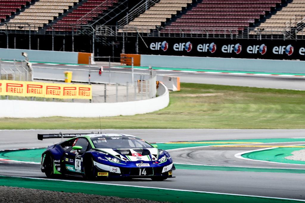 GTWC Europe | Barcellona, Qualifiche 1: Lamborghini in pole con Feller ed Emil Frey