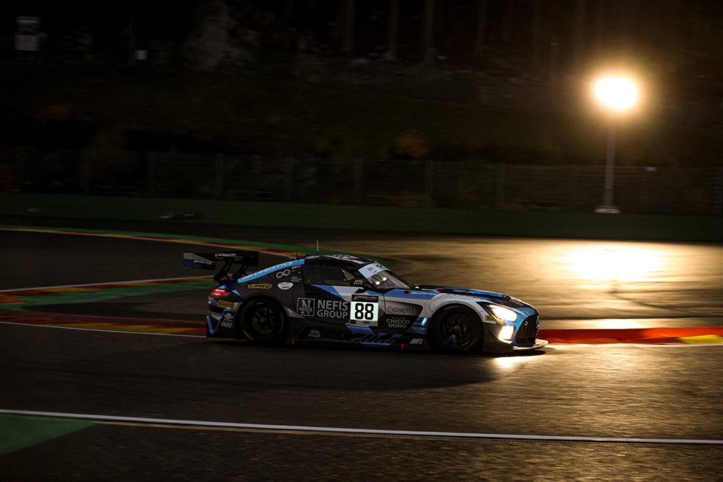 GTWC Europe | 24 Ore di Spa, 6a ora: Fraga tiene al comando la Mercedes di AKKA ASP