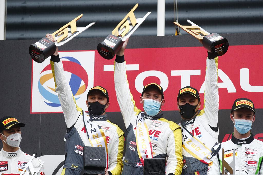 GTWC Europe | Quattro Porsche nella top-10 della 24 Ore di Spa, vittoria per ROWE Racing