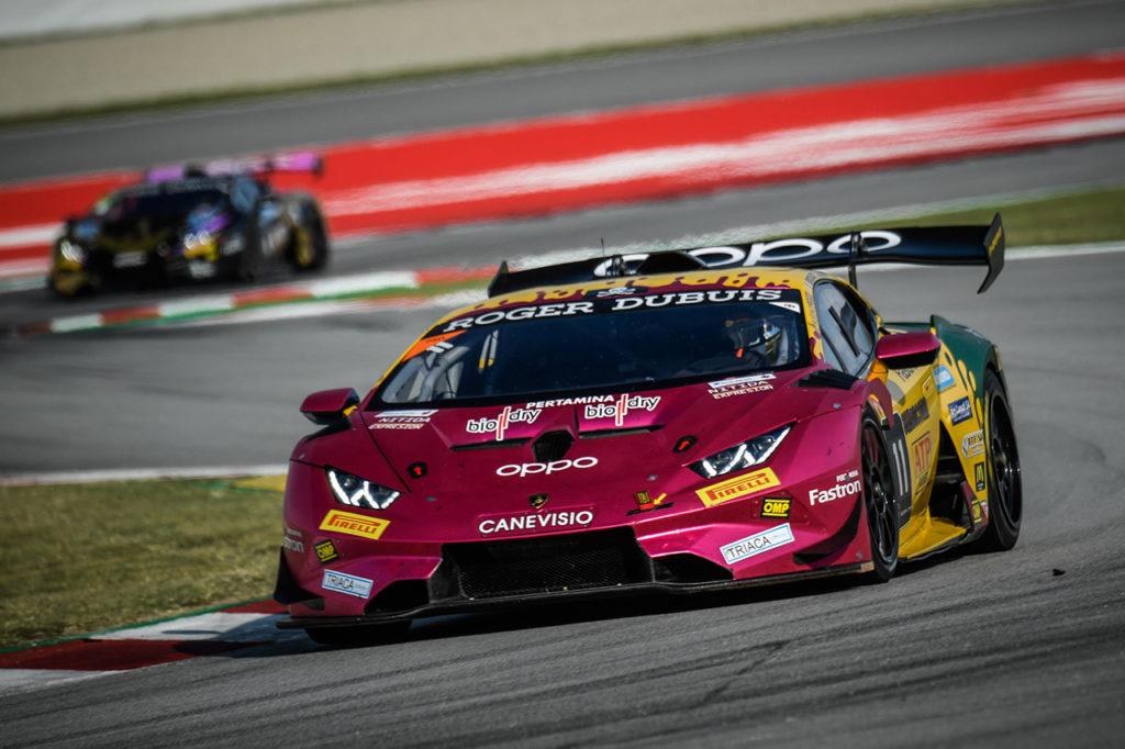 Lamborghini Super Trofeo | Doppietta di Boccolacci-Gilardoni con Oregon a Barcellona