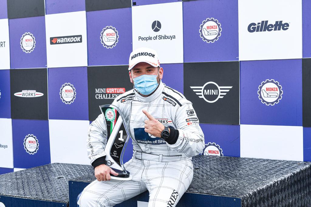 MINI Challenge | Monza, Gara 1-2: doppia vittoria e titolo assoluto per Sandrucci