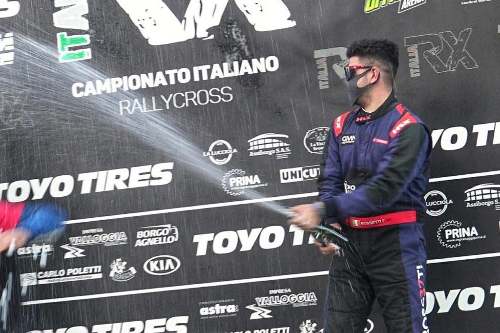 RX Italia | Bossetti centra il podio nel finale di stagione a Maggiora
