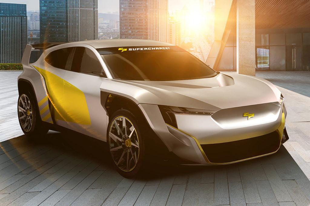SuperCharge, un nuovo campionato per crossover elettrici da 670 CV in arrivo nel 2022