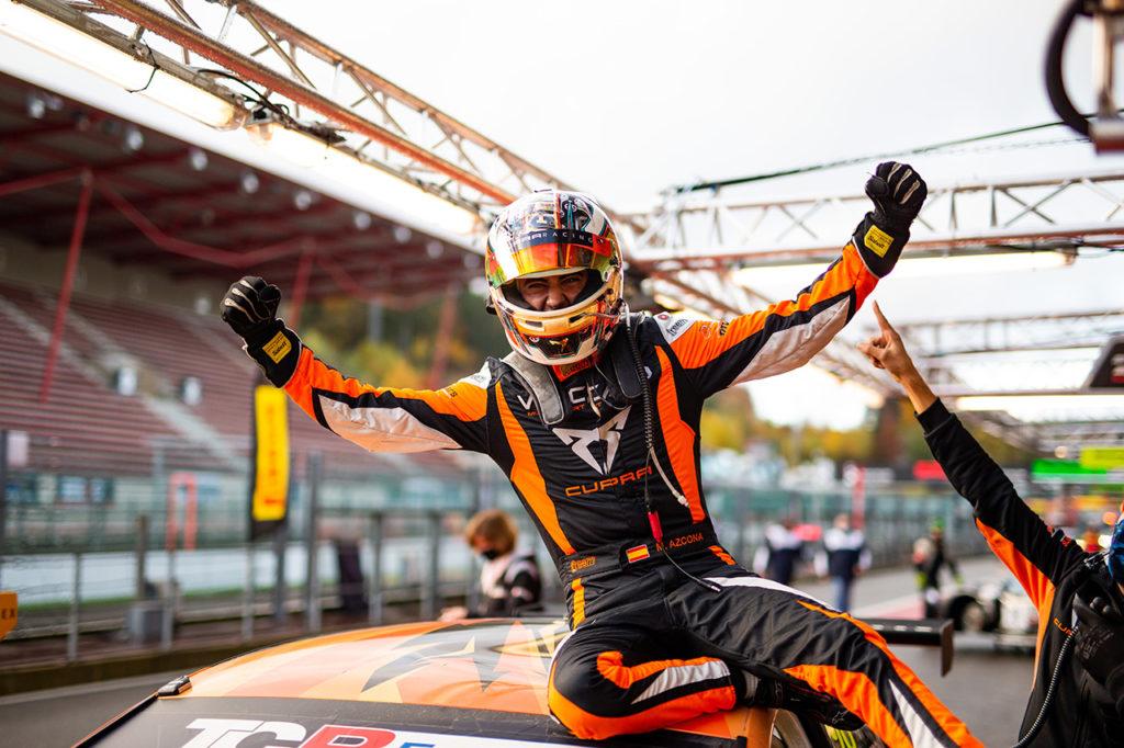 TCR Europe | Spa-Francorchamps, Gara 2: doppietta di Azcona, di nuovo in rimonta con Cupra