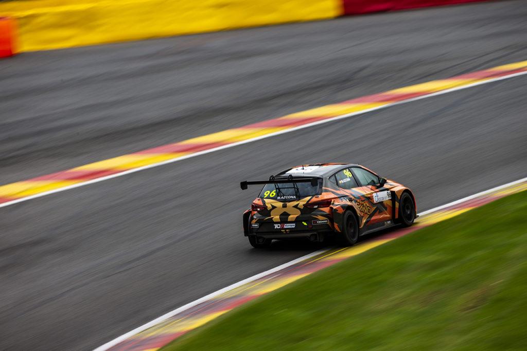 TCR Europe | Spa-Francorchamps, Gara 1: Azcona di rimonta con la Cupra