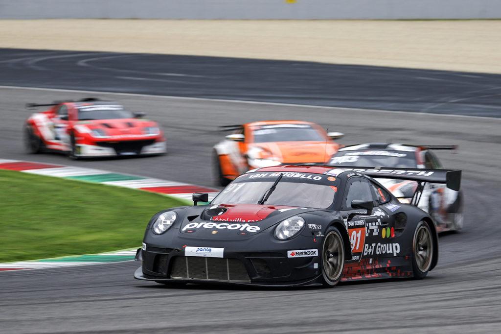 24H Series | Vittoria di Herbert Motorsport nella 12H del Mugello sponsorizzata Hankook
