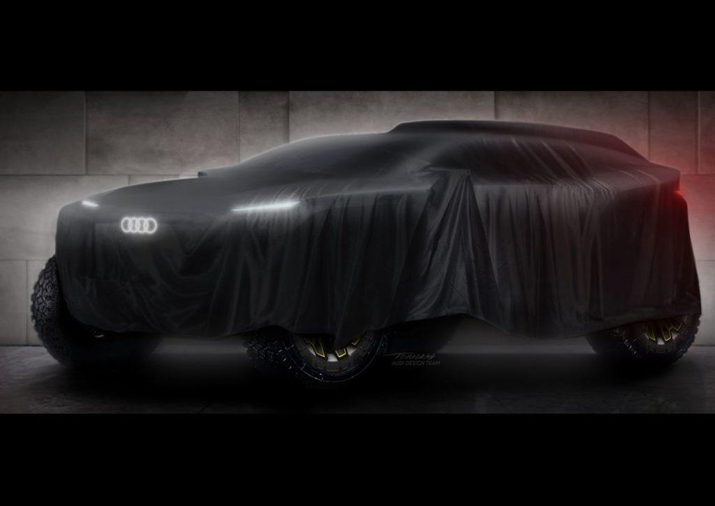 Dakar | Audi in gara dal 2022 con un prototipo elettrico
