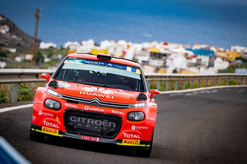 ERC | Raffica di titoli per Citroen nel weekend al Rally Isole Canarie: Lukyanuk campione europeo, Lopez nazionale