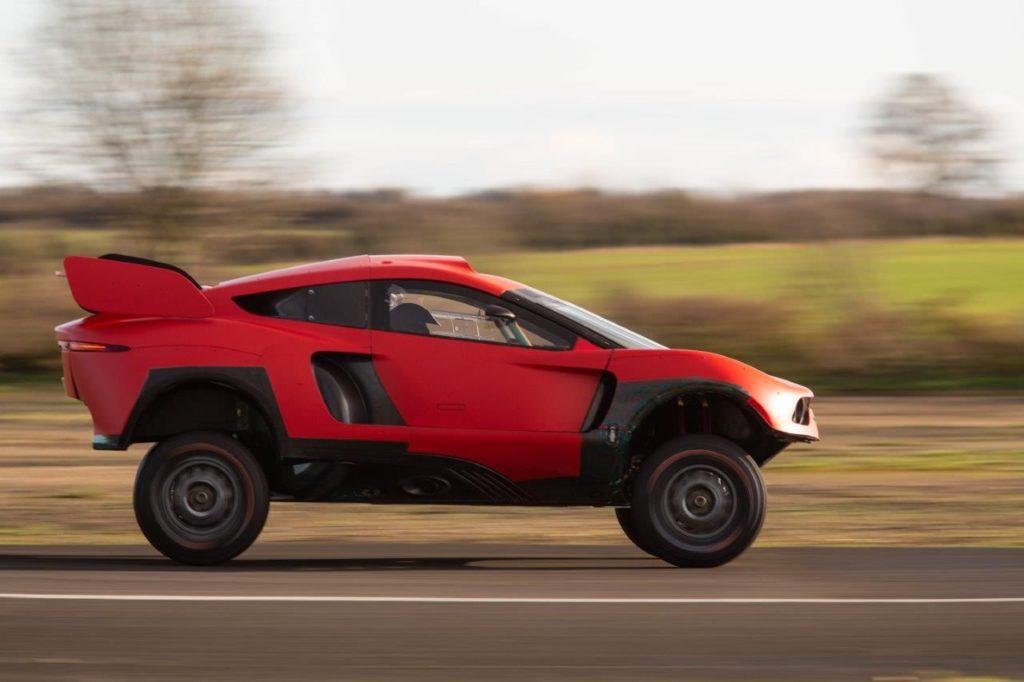 Dakar | Ecco il BRX T1 di Prodrive che Roma e Loeb porteranno in gara nel 2021