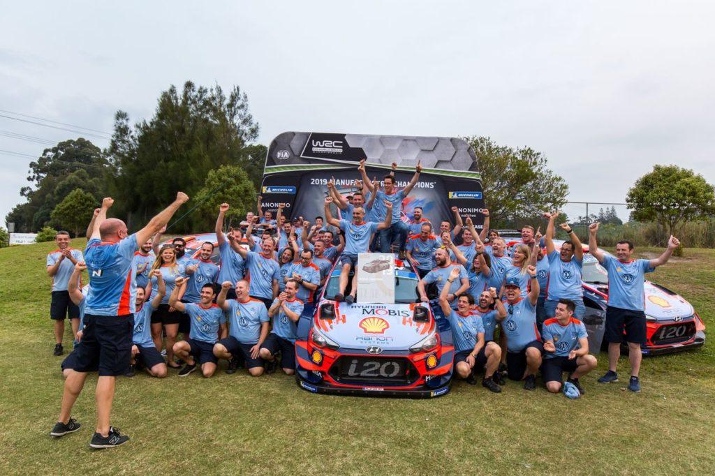WRC | Un anno fa Hyundai Motorsport vinceva il titolo costruttori