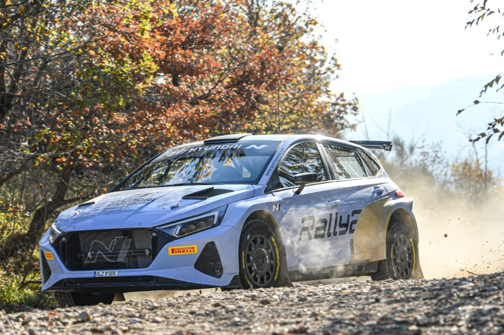 WRC   Hyundai i20 N Rally2, i primi test con Huttunen e Tanak