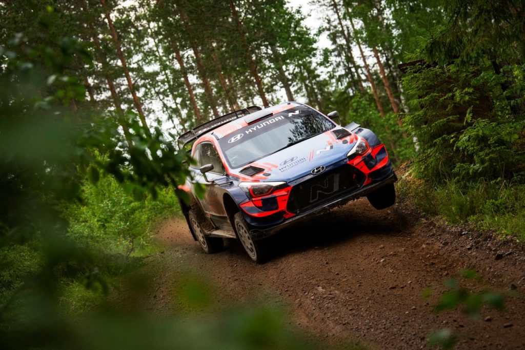 WRC | Ott Tanak al Kehala Rally ha corso su una Hyundai con alcuni aggiornamenti