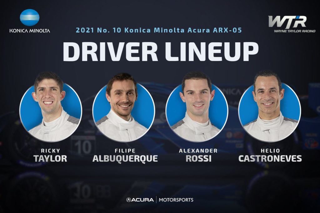 IMSA | Wayne Taylor Racing annuncia Ricky Taylor e Albuquerque sull'Acura DPi nel 2021