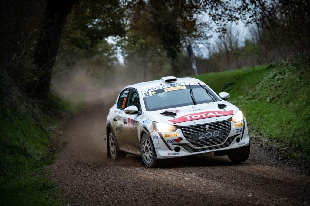 CIR | Andreucci, campione Tricolore Rally Due Ruote Motrici, presenta la nuova Peugeot 208 [VIDEO]