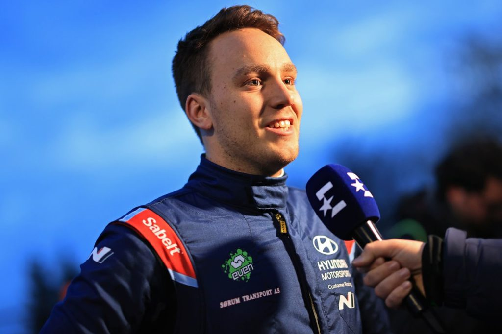 WRC | Ole Christian Veiby debutta all'ACI Rally Monza con la Hyundai i20 WRC