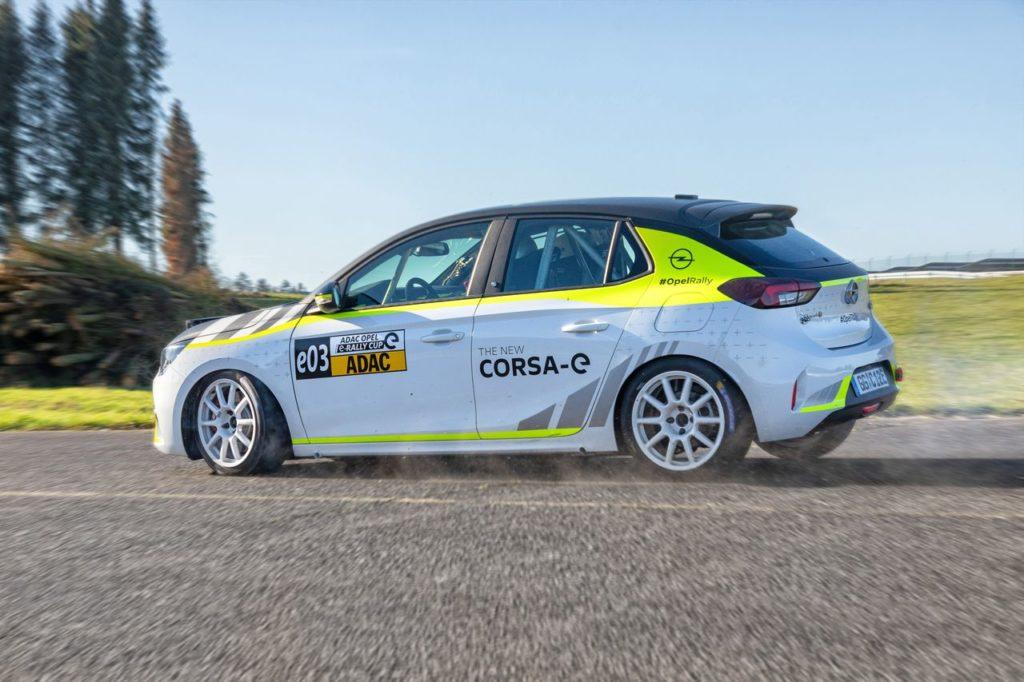 La nuova Opel Corsa e-Rally è praticamente pronta dopo gli ultimi test