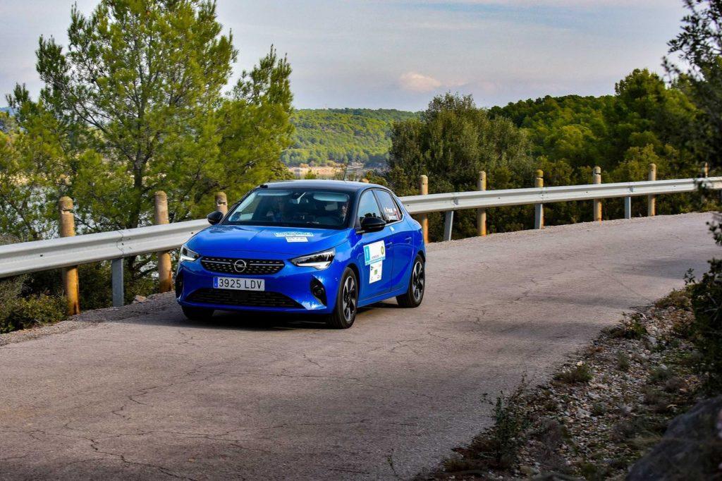 FIA E-Rally Regularity Cup 2020, debutto internazionale e trionfo per l'Opel Corsa-e