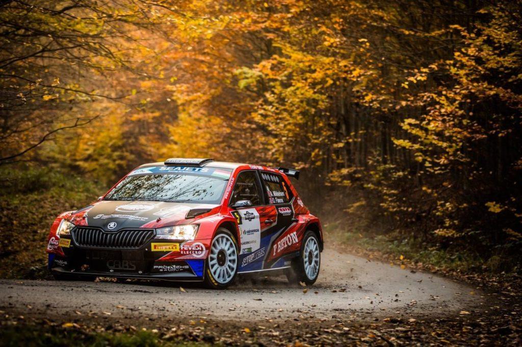ERC | Rally Ungheria 2020, prima giornata: Mikkelsen in vetta, disfatta per Lukyanuk e Solberg