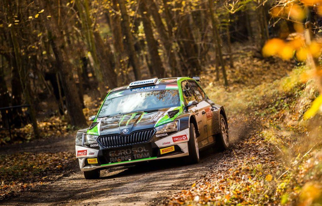 ERC | Oliver Solberg ha rischiato una penalità al Rally Ungheria, ma il reclamo degli avversari è stato respinto