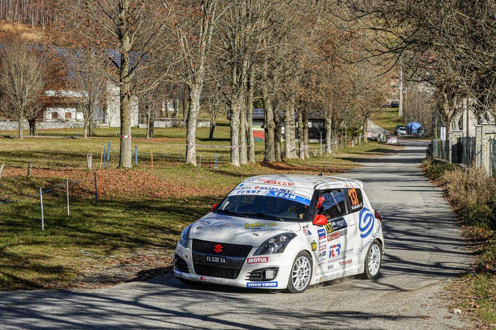 Suzuki Rally Cup | Al Trofeo ACI Como Scalzotto e Rutigliano si laureano campioni 2020