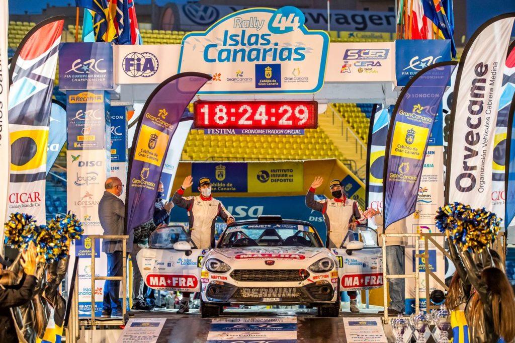 Abarth Rally Cup | Andrea Mabellini campione 2020. E si prepara a lottare per il titolo FIA RGT all'ACI Rally Monza