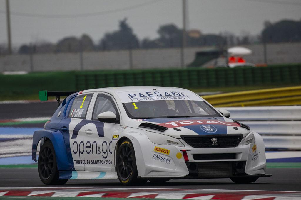 ATCC | Arduini e Bodega vicecampioni con la Peugeot 308 TCR della stagione 2020