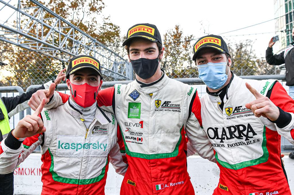 CIGT | Monza, Gara: vittoria e titolo Endurance per la Ferrari di Roda-Rovera-Fuoco