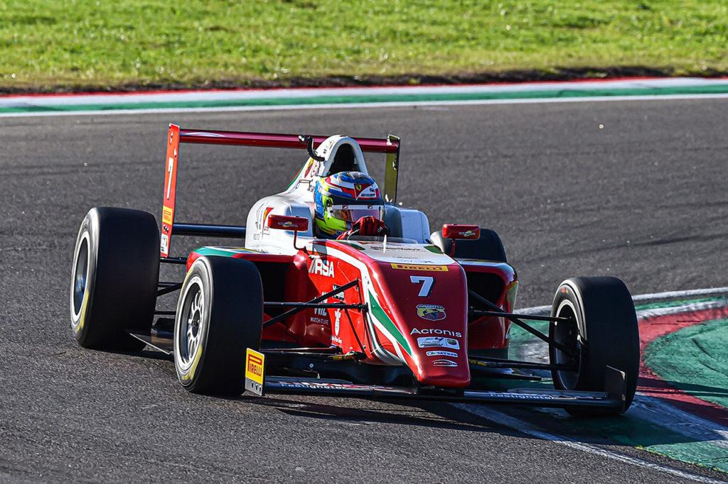 F4 Italia | Imola (2), Gara 2: nervi saldi per Beganovic, prima vittoria con Prema