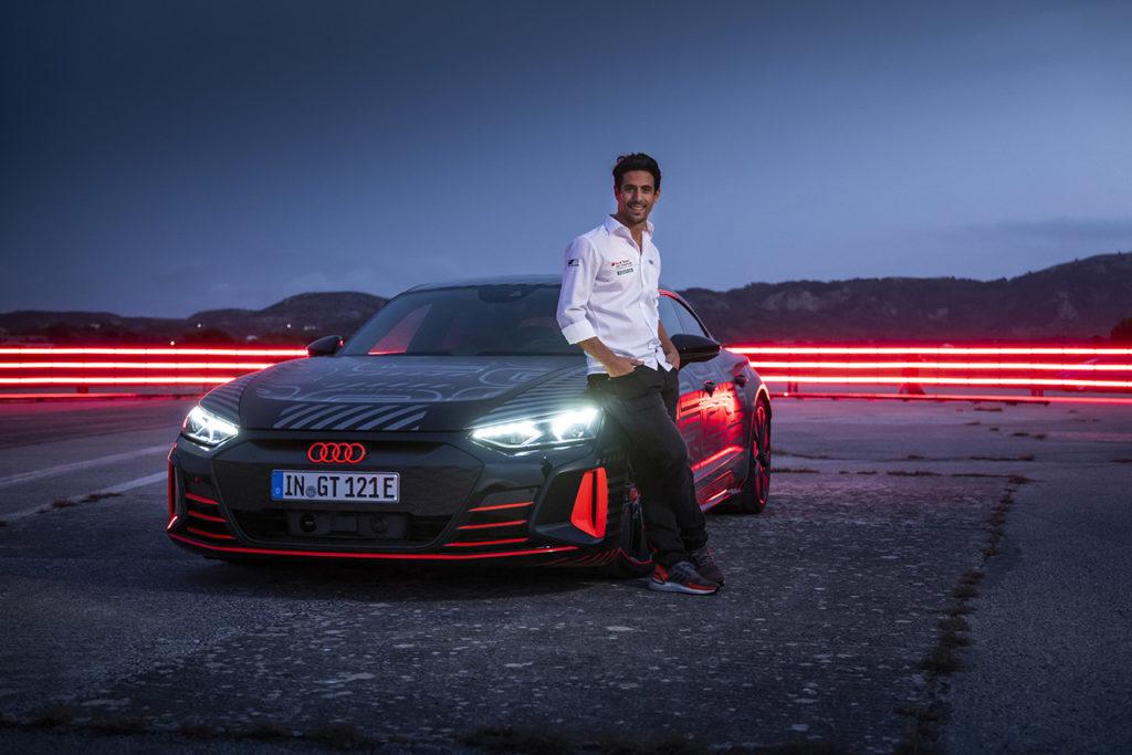 Formula E | Lucas di Grassi testimonial della nuova Audi RS e-tron GT