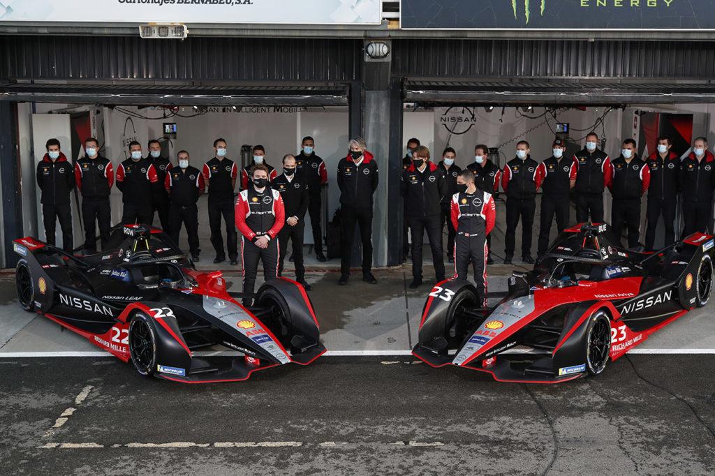 Formula E | Nissan e.dams rimanda ad aprile 2021 l'introduzione della nuova auto