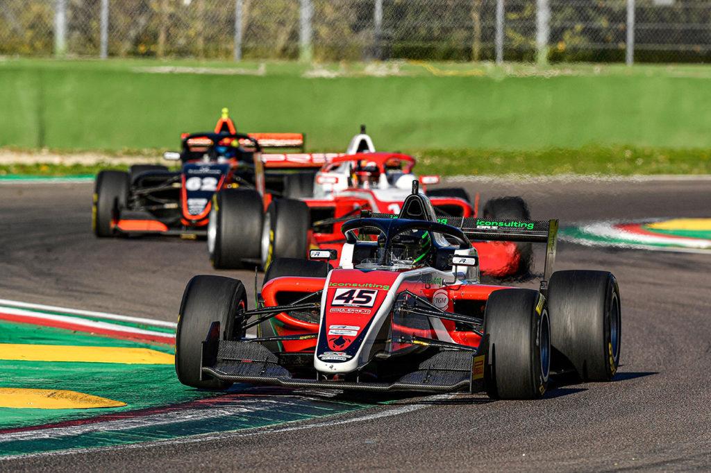 Formula Regional | Imola, Gara 1: prima vittoria di Rodriguez, KO di Rasmussen prima del via