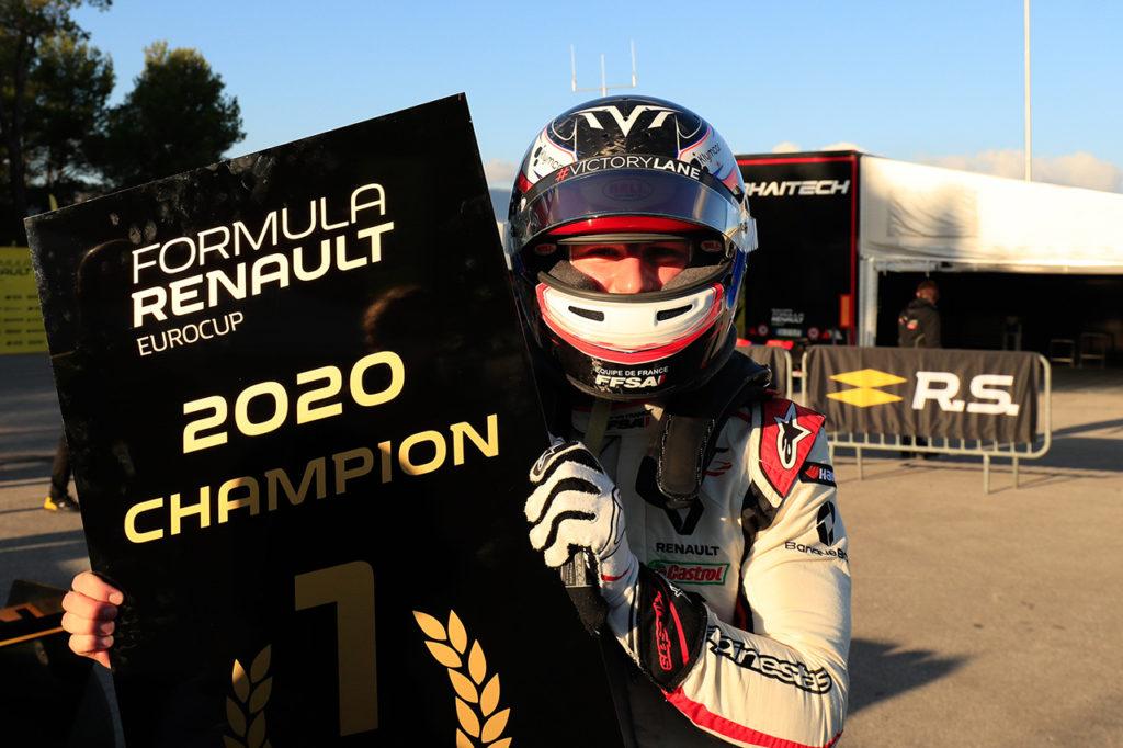 Formula Renault Eurocup | Martins campione 2020, doppietta di Colombo a Le Castellet