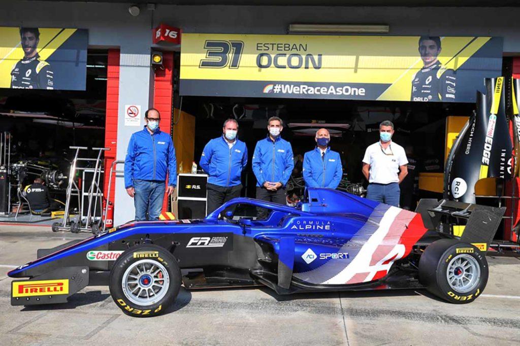 Nasce il Formula Regional European Championship by Alpine, presentato a Imola