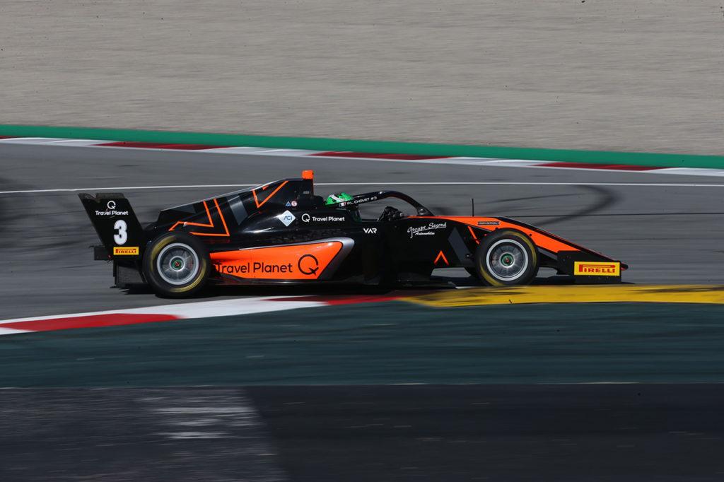Formula Regional   Barcellona, Gara 3: doppietta di Van Amersfoort con Chovet e Hauger