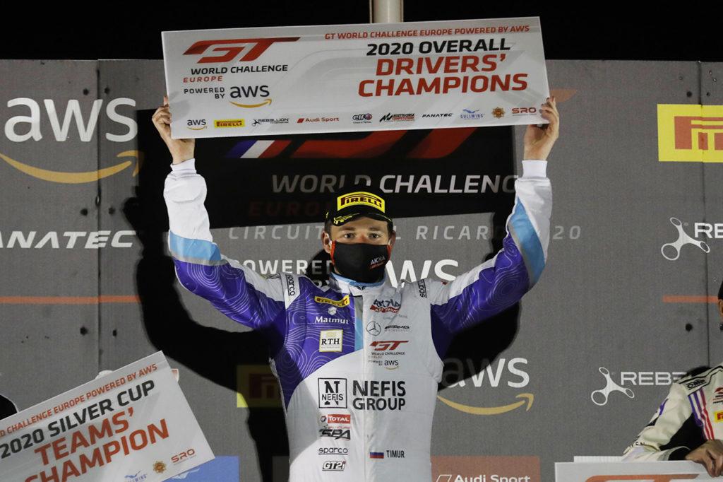 GTWC Europe | Boguslavskiy ottiene il titolo Overall a Le Castellet con la Mercedes-AMG di AKKA ASP