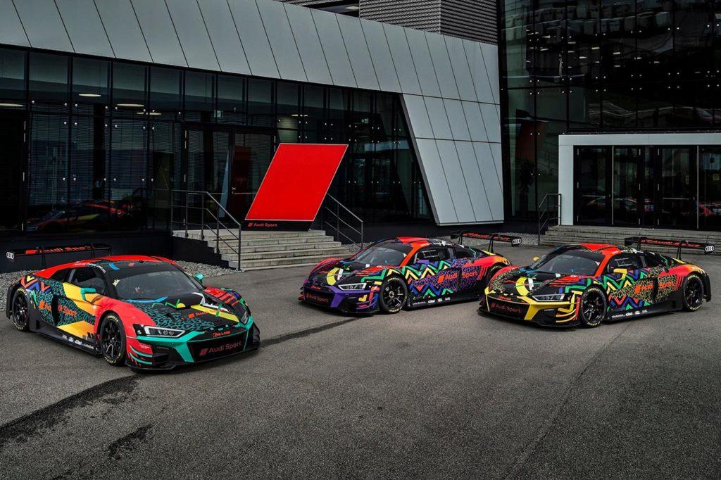 IGTC | Audi svela i tre equipaggi ufficiali per la 9 Ore di Kyalami (e altrettante livree speciali)